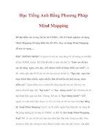 Học Tiếng Anh Bằng Phương Pháp Mind Mapping