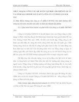 THỰC TRẠNG CÔNG TÁC KẾ TOÁN TẬP HỢP CHI PHÍ SẢN XUẤT VÀ TÍNH GIÁ THÀNH XÂY LẮP Ở CÔNG TY CỔ PHẦN LICOGI 16.6