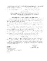 Bài giảng QĐ1611/QĐ-SGDĐT ngày 28/12/2010 của SGDĐT Tiền Giang