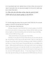 CÁC GIẢI PHÁP CHỦ YẾU NHẰM TĂNG CƯỜNG CÔNG TÁC QUẢN LÝ THUẾ TNDN ĐỐI VỚI CÁC DOANH NGHIỆP CÓ VỐN ĐTNN TRÊN ĐỊA BÀN TỈNH VĨNH PHÚC