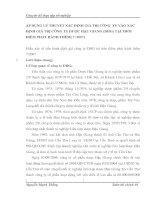 ÁP DỤNG LÝ THUYẾT XÁC ĐỊNH GIÁ TRỊ CÔNG  TY VÀO XÁC ĐỊNH GIÁ TRỊ CÔNG TY DƯỢC HẬU GIANG (DHG) TẠI THỜI ĐIỂM PHÁT HÀNH THÊM( 7 -2007)