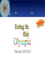 Gián án Hoạt động ngoại khóa - Đường lên đỉnh Olimpia