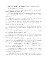 TÌNH HÌNH QUẢN LÝ SỬ DỤNG ĐẤT ĐAI VÀ TIỀM NĂNG ĐẤT ĐAI