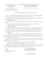 Tài liệu Công văn PGD về điều chỉnh thời gian thi GVG vòng huyện