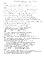 Tài liệu Đề cương ôn tập Học Kì I Địa Lí 9