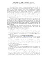 Bài soạn Bốn chữ trong HỊCH TƯỚNG SĨ