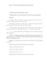 Bài soạn 10 DE, DAP AN TOAN CHON LOC (PHAN VIII)