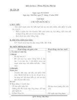 Bài soạn GIAO AN LOP 2 TUAN 19-20-21-22( CKTKN-KNS) moi nhat