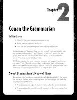 Conan the Grammarian