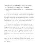 MỘT SỐ ĐÁNH GIÁ VỀ TÌNH HÌNH TỔ CHỨC HẠCH TOÁN KẾ TOÁN TẠI CÔNG TY CỔ PHẦN XI MĂNG TUYÊN QUANG