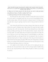 MỘT SỐ KIẾN NGHỊ NHẰM HOÀN THIỆN VIỆC HẠCH TOÁN CHI PHÍ SẢN XUẤT VÀ TÍNH GIÁ THÀNH SẢN PHẨM TẠI CÔNG TY CỔ PHẦN XI MĂNG VIỆT TRUNG