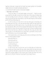 NHỮNG VẤN ĐỀ CƠ BẢN VỀ TỔ CHỨC BỘ MÁY QUẢN LÝ VÀ HOÀN THIỆN CƠ CẤU TỔ CHỨC BỘ MÁY QUẢN LÝ