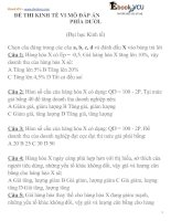 80 ebook VCU de thi kinh te vi mo tham khao DHKT co dap an k45