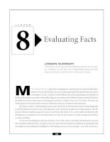 Critical Thinking Skills Success - Evaluating Facts
