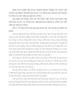 MỘT SỐ Ý KIẾN ĐỀ XUẤT NHẰM HOÀN THIỆN TỔ CHỨC KẾ TOÁN TẬP HỢP CHI PHÍ SẢN XUẤT VÀ TÍNH GIÁ THÀNH SẢN PHẨM Ở CÔNG TY MỸ THUẬT TRUNG ƯƠNG