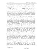 MỘT SỐ GIẢI PHÁP NHẰM HOÀN THIỆN CÔNG TÁC CHI TRẢ BHXH BẮT BUỘC TẠI CƠ QUAN BHXH TỈNH CAO BẰNG