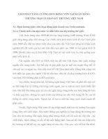 GIẢI PHÁP TĂNG CƯỜNG HUY ĐỘNG VỐN TẠI NGÂN HÀNG THƯƠNG MẠI CỔ PHẦN KỸ THƯƠNG VIỆT NAM