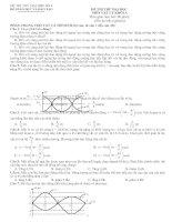 Bài giảng Đề&đáp án thi thử lý 2011 (số 4)