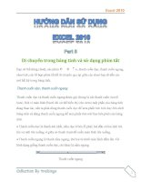 Hướng dẫn sử dụng excel 2010 part 5