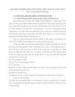 GIẢI PHÁP MỞ RỘNG HOẠT ĐỘNG BẢO LÃNH TẠI NGÂN HÀNG TMCP BẮC Á CHI NHÁNH THÁI HÀ