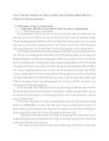 CÁC VẤN ĐỀ CƠ BẢN VỀ CHẤT LƯỢNG HOẠT ĐỘNG MÔI GIỚI CỦA CÔNG TY CHỨNG KHOÁN