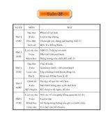 Bài giảng giao an teu hoc lop 5 TUAN 22
