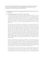 THỰC TRẠNG THỊ TRƯỜNG CHỨNG KHOÁN VIỆT NAM VÀ NHU CẦU XÂY DỰNG THỊ TRƯỜNG CHỨNG KHOÁN PHI TẬP TRUNG CÓ SỰ THAM GIA CỦA NHÀ TẠO LẬP THỊ TRƯỜNG