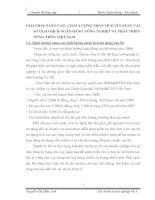 GIẢI PHÁP NÂNG CAO  CHẤT LƯỢNG PHÂN TÍCH TÍN DỤNG TẠI SỞ GIAO DỊCH NGÂN HÀNG NÔNG NGHIỆP VÀ PHÁT TRIỂN NÔNG THÔN VIỆT NAM