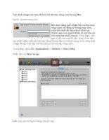 TTạo disk image mã hóa để lưu trữ dữ liệu nhạy cảm trong Mac