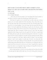 KIẾN NGHỊ VÀ GIẢI PHÁP PHÁT TRIỂN NGHIỆP VỤ BẢO HIỂM VẬT CHẤT XE CƠ GIỚI TRÊN THỊ TRƯỜNG BẢO HIỂM VIỆT NAM