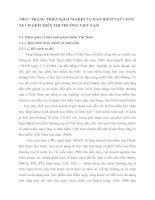 THỰC TRẠNG TRIỂN KHAI NGHIỆP VỤ BẢO HIỂM VẬT CHẤT XE CƠ GIỚI TRÊN THỊ TRƯỜNG VIỆT NAM