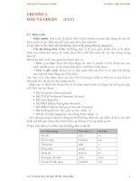 Giáo án kỷ thuật đo lường - Chương 3: MẪU VÀ CHUẨN