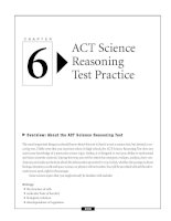 ACT Science Reasoning Test Practice