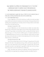 ĐẶC ĐIỂM CỦA CÔNG TY TNHH DỊCH VỤ TƯ VẤN TÀI CHÍNH KẾ TOÁN VÀ KIỂM TOÁN VỚI ĐÁNH GIÁ