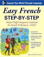 Ngữ pháp tiếng Pháp - Easy French Step by Step
