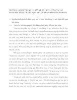 NHỮNG VẤN ĐỀ LÝ LUẬN CƠ BẢN VỀ TỔ CHỨC CÔNG TÁC KẾ TOÁN BÁN HÀNG VÀ XÁC ĐỊNH KẾT QUẢ BÁN HÀNG TRONG DNSX