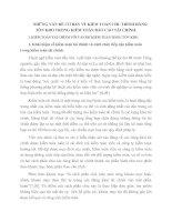 NHỮNG VẤN ĐỀ CƠ BẢN VỀ KIỂM TOÁN CHU TRÌNH HÀNG TỒN KHO TRONG KIỂM TOÁN BÁO CÁO TÀI CHÍNH
