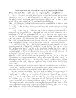 Thực trạng phân tích tài chính tại công ty cổ phần xi măng Sài Sơn