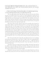 LÝ LUẬN CHUNG VỀ HẠCH TOÁN TIÊU THỤ THÀNH PHẨM VÀ XÁC ĐỊNH KẾT QUẢ TIÊU THỤ THÀNH PHẨM TRONG CÁC DOANH NGHIỆP SẢN XUẤT