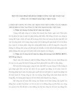 MỘT SỐ GIẢI PHÁP ĐỂ HOÀN THIỆN CÔNG TÁC KẾ TOÁN TẠI CÔNG TY CỔ PHẦN GIÁO DỤC VIỆT NAM