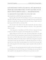 GIẢI PHÁP PHÁT TRIỂN CÁC DỊCH VỤ HỖ TRỢ KHÁCH HÀNG QUA GIAO DỊCH TRỰC TUYẾN TẠI CÔNG TY CỔ PHẦN CHỨNG KHOÁN CHÂU Á