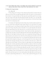 CÁC GIẢI PHÁP ĐỂ NÂNG CAO HIỆU QUẢ HOẠT ĐỘNG TẠI NGÂN HÀNG SÀI GÒN CÔNG THƯƠNG CHI NHÁNH CẦN THƠ