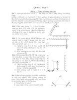 Bài giảng Bài tập Quang học phản xạ