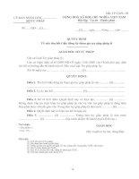 Mẫu TP-TGPL-3Đ: Quyết định thu hồi Giấy đăng ký tham gia trợ giúp pháp lý