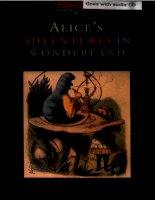 Alice''s adventures in wonderland LEWIS CARROLL