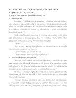 CƠ SỞ KHOA HỌC CỦA ĐỊNH GIÁ BẤT ĐỘNG SẢN