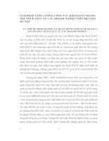 GIẢI PHÁP TĂNG CƯỜNG CÔNG TÁC KIỂM SOÁT NGUỒN THU THUẾ GTGT TỪ CÁC DOANH NGHIỆP TRÊN ĐỊA BÀN HÀ NỘI
