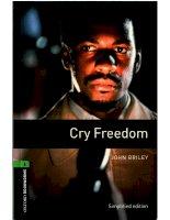 Cry freedom bộ sách tiếng anh dùng để học từ vựng