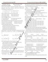 Bài giảng 25 đề thi thử của các trường THPT trên toàn quốc