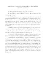 THỰC TRẠNG CÔNG TÁC QUẢN LÝ THUẾ THU NHẬP CÁ NHÂN Ở VIỆT NAM HIỆN NAY
